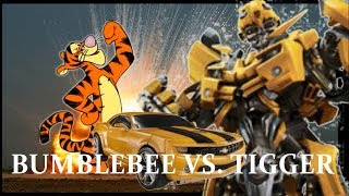 Transformers: Bumblebee vs Tigger Stop motion