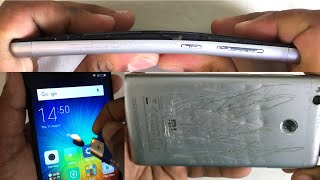 Xiaomi Redmi 3S Prime - Scratch test, Burn test, Hitting test, Bend test, Twist test