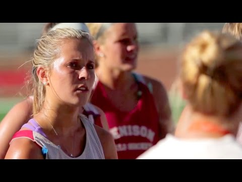 Training Days With Denison Field Hockey