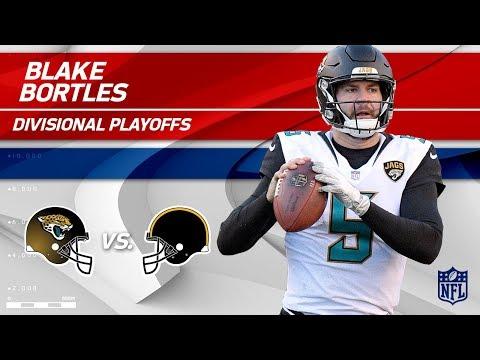 Blake Bortles Helps Jags Defeat Pittsburgh! | Jaguars vs. Steelers | Divisional Player HLs