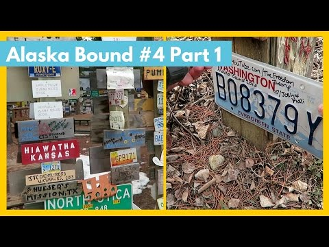 LEAVING OUR SIGN | Sign Post Forest | Alaska Bound #4 Part 1| The Freedom Theory