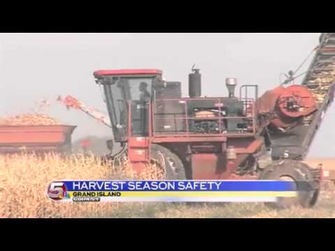 News 5 at 10 - Harvest Season Safety / September 29, 2014