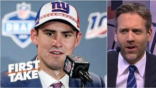 Giants QB Daniel Jones 'better be a Hall-of-Famer one day' - Max Kellerman | First Take