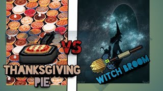 ThanksGiving Pie Vs. Witch Broom *Pixel Gun 3D* (2 reviews 1 video)