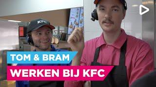 Bram & Tom proppen zich vol bij KFC - Club Ondersteboven aan het werk | SLAM!