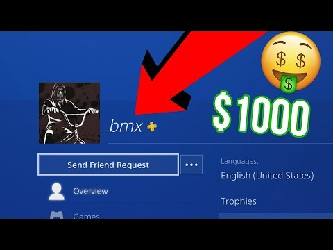 The $1000 PSN Account