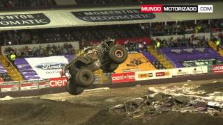 MONSTER JAM COSTA RICA 2014 - RESUMEN SHOW #1