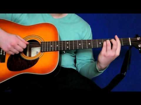 Evanescence - My immortal на гитаре разбор - видеоурок - табы, перебор