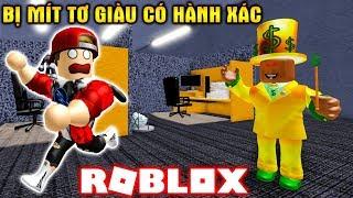 ROBLOX | Bị Mít Tơ Giàu Có Bóc Lột Sau Phi Vụ Trộm Kim Cương | Escape The Office Obby | Vamy Trần