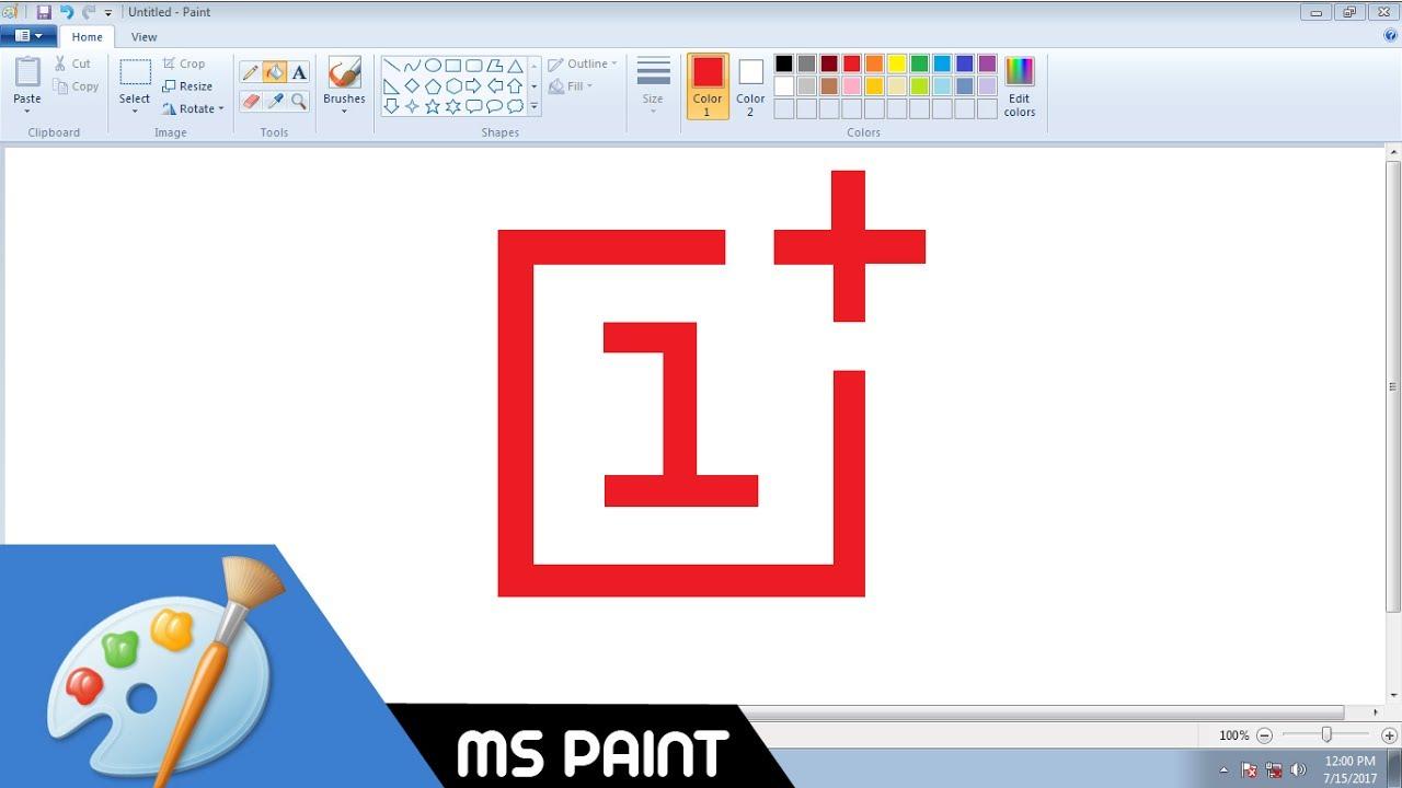 Design a business logo with ms paint 3d