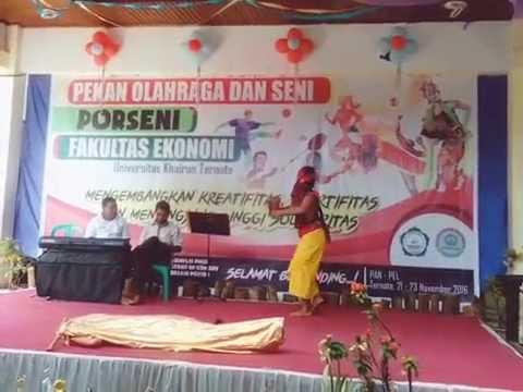 Maluku Utara ~ Tarian Salai Jin ( Kombek grub B ) juara 1 Tingkat Fakultas
