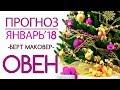 Гороскоп ОВЕН Январь 2018 год / Ведическая Астрология