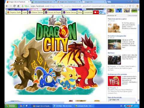 Hack De Dragon city Huevos de la taberna 10 setiembre 2013 100% funcable