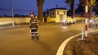 Ninja Vision định áp sát đoàn xe bảo vệ Tổng thống Chile