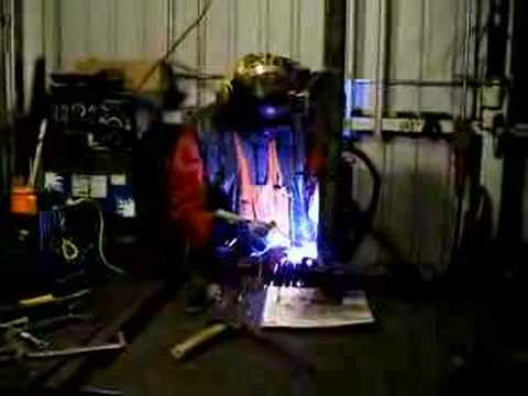 Homemade Welder from Microwave Transformers