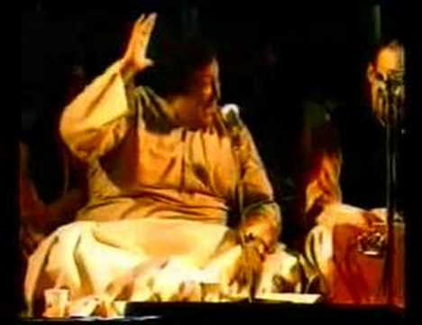 Nusrat Fateh Ali Khan - WOMAD - Nit Khair Manga part 23 - Raga...