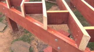 Pool Deck Building: Cross Blocking & Hurricane Ties