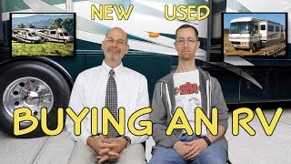 Buying an RV - The Pros & Cons of New vs. Used