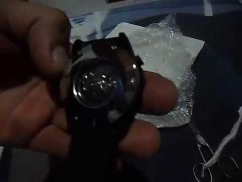 Unboxing GearBest – Relógio mecânico visor p/ maquina – Mechanical watch display for machine