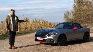 2018 Abarth 124 Spider | Roadster/Cabrio Fahrbericht | Review | Test-Drive | Details | Sound |