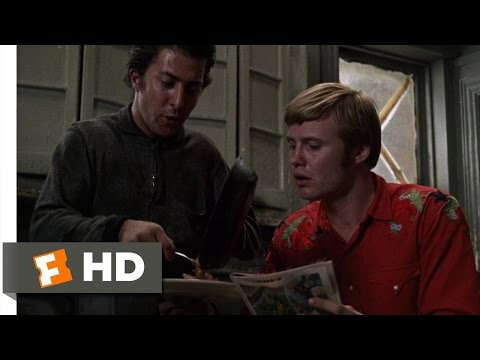 Midnight Cowboy (4/11) Movie CLIP - Ratso and Joe Trade Insults (1969) HD