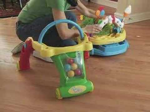 Kolcraft Baby Sit Amp Step 2 In 1 Activity Center Youtube