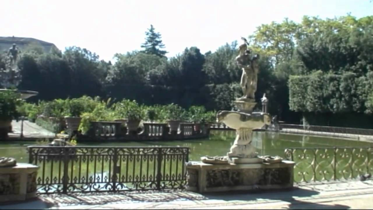 Firenze florence il giardino di boboli youtube - Immagini di giardini di villette ...