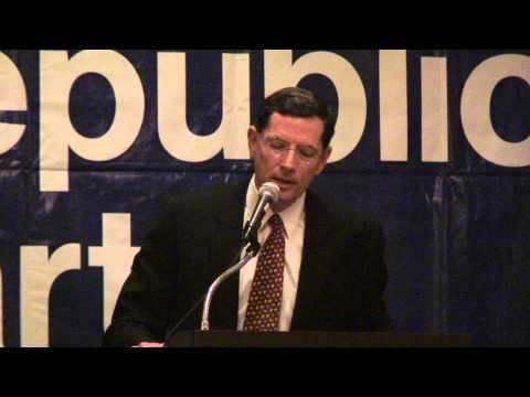 Senator John Barrasso (R-WY) at the 2013 Missouri Lincoln Days