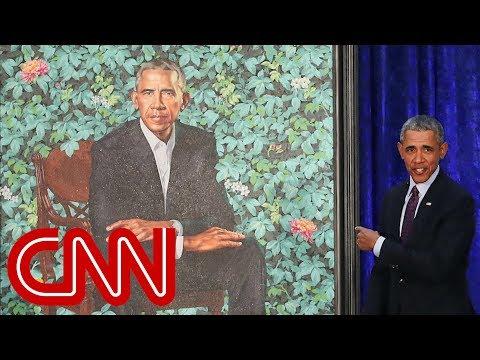 Cover Lagu President Obama's official portrait unveiled