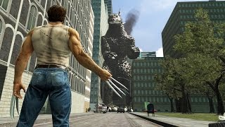 [SFM] Godzilla vs Wolverine   Battle in the Movies