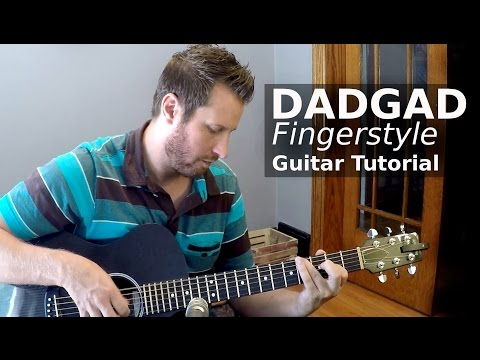 Fingerstyle Guitar Tutorial! - Learn to play in DADGAD!