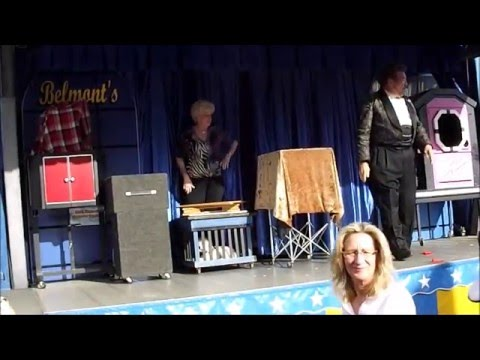 Belmonts Magic Show at 2016 Florida Strawberry Festival