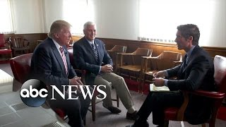 Donald Trump and Mike Pence Sit Down With David Muir