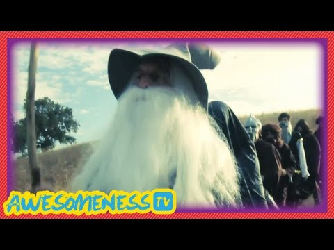 The Hobbit: An Unexpected Journey Sneak Peek Clip (Parody) - Randomness