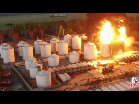 Incendie le plus grave en Ukraine depuis un demi-siècle