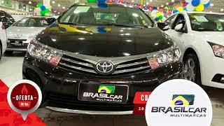 Corolla XEI 2.0 - Loja Brasil Cal | Vale Auto Shopping