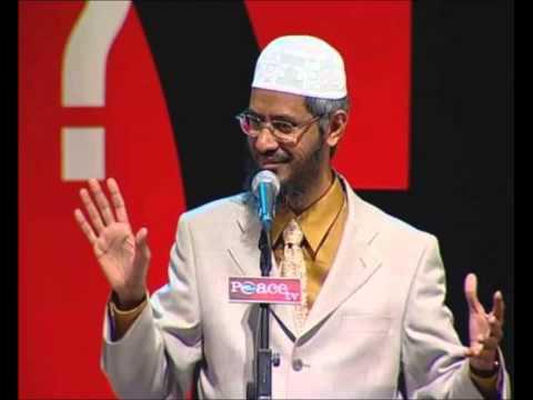 Dr Zakir Naik Urdu Bayan Khuda Ka Tasawur video