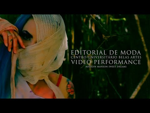 Editorial de Moda Universidade Belas Artes - Video Performance