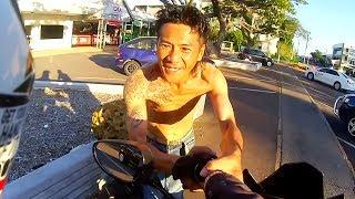 Funny, Crazy & Weird People Vs Bikers 2017