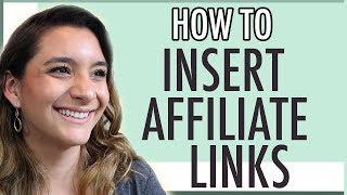 INSERTING AFFILIATE LINKS IN YOUR POST ● AMAZON AFFILIATE AND OTHER PROGRAMS