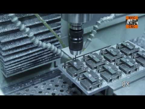 Manufacturing at Home - Fixture Plate to Machine, Drill & Tap Steel Part