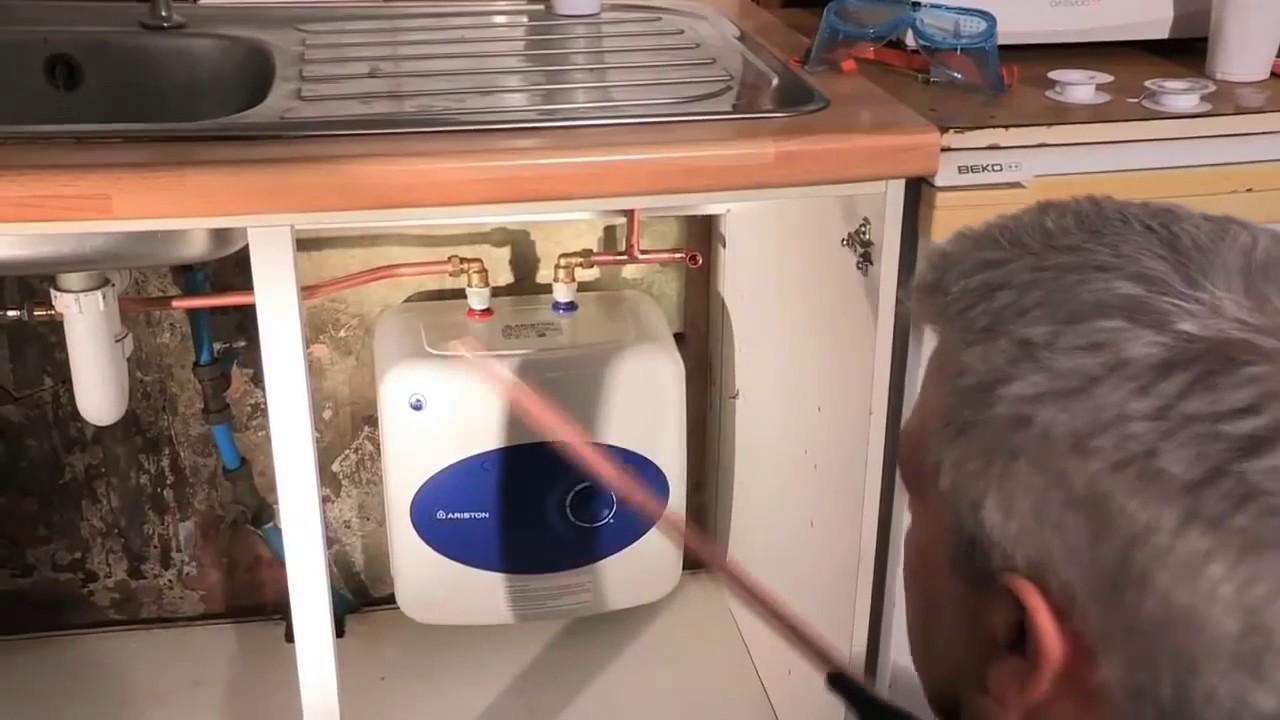 Водонагреватель аристон 10 литров установка своими руками 62