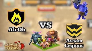 Arranged war racap Alcoh vs Assam Legions . Best 3 stars attacks.