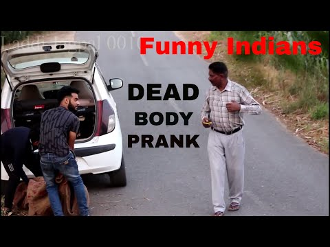 Latest funny video | Dead body Prank | Funny indian video | Punjabi Funny Video | Indian funny video