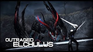 vindictus - Spear Lann Outraged Elchulus solo play / 창시타 폭주한 엘쿨루스 솔로잉