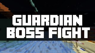 Minecraft Minigame - Guardian Boss Fight by Team Wooloo