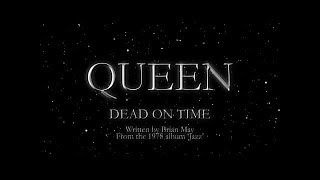 Queen - Dead On Time (Official Lyric Video)