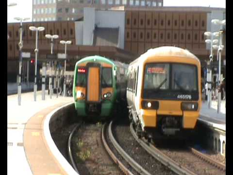 First Great Western Trains And South Eastern Trains 29.06.08