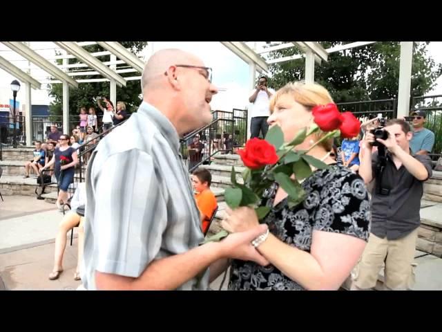 Bob & Sue's 30th Anniversary Flash Mob