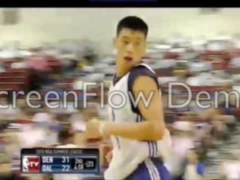 Jeremy Lin NBA Summer League Mavs vs Nuggets Highlights